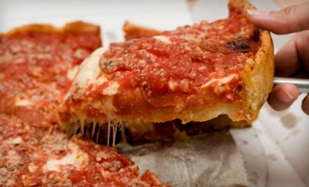 $20 Groupon to Victor's Chicago Pizza - Victor's Chicago Pizza in Lenexa