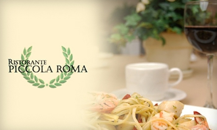 Piccola Roma Restaurant - Annapolis: $20 for $40 Worth of Italian Fare and Drinks at Piccola Roma Restaurant in Annapolis