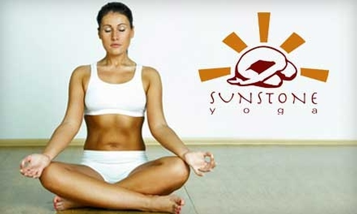 Sunstone Yoga - Governors Ranch: $30 for 30 Days of Yoga Classes at Sunstone Yoga in Littleton ($155 Value)
