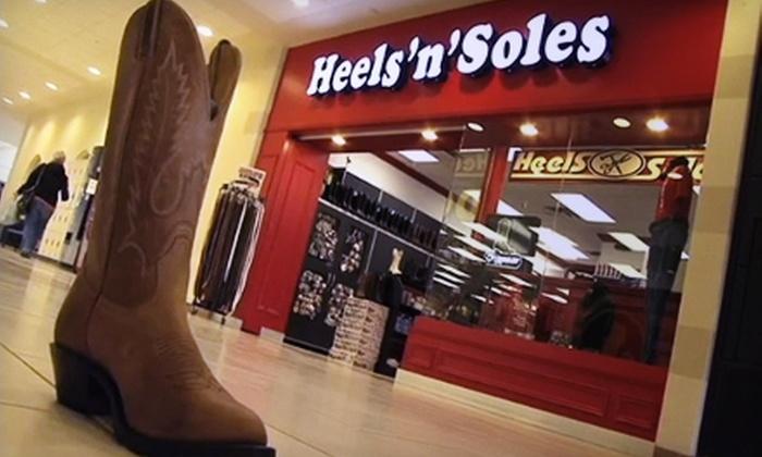 Heels 'n' Soles - Greater Sudbury: $10 for $20 Worth of Shoes, Shoe Repair, and Satin-Shoe Dyeing at Heels 'n' Soles