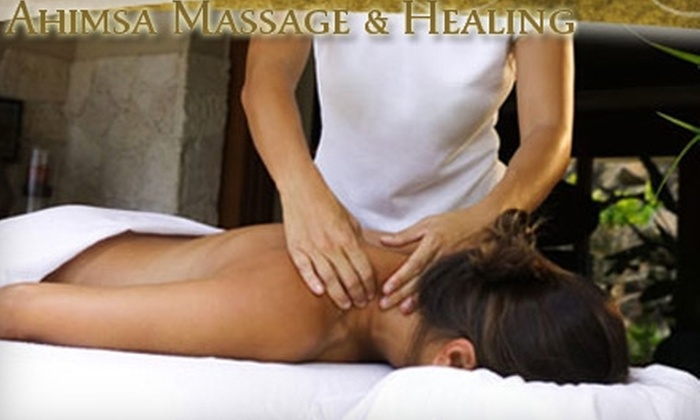 Ahimsa Massage & Healing - Leawood Country Manor: $35 for One-Hour Massage of Your Choice at Ahimsa Massage & Healing ($70 Value)