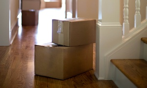 NY Budget Movers LLC: $199 for Out-of-State Moving Services with Two Movers and Van from NY Budget Movers LLC ($400 Value)