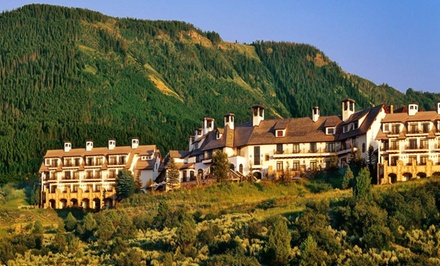 Groupon Deal: 1-Night Stay for Up to Four at The Lodge & Spa at Cordillera in Edwards, CO