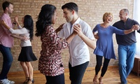 Four or Eight Salsa, Bachata or Latin Dance Classes at Crystal Dance Center