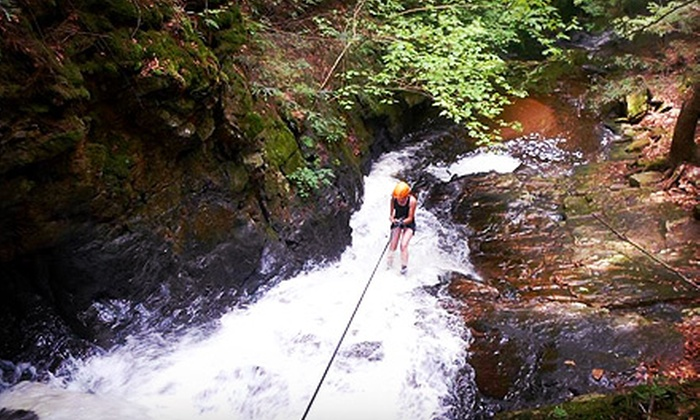 North Ridge Mountain Guides - Worcester: Introductory Waterfall Rappelling Class for One or Two (Up to 65% Off)