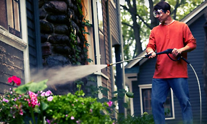 West Cleaning Services - Abbotsford: Two or Four Hours of Power Washing from West Cleaning Services (Up to 68% Off)