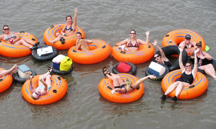 Seven Oaks Recreation - Boone: River Tube, Kayak, or Canoe Excursion for Two or Four from Seven Oaks Recreation  (Up to 46% Off)