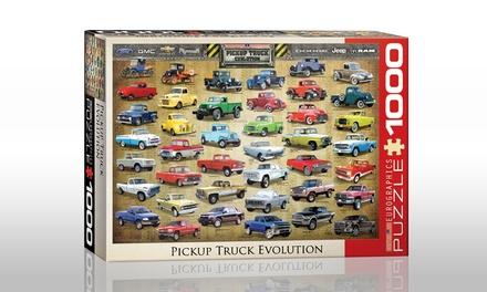 1,000-Piece Pickup Truck Evolution Puzzle