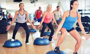 Just Fitness Classes, LLC: 10 Fitness Classes or One Month of Classes at Just Fitness Classes, LLC (Up to 58% Off)