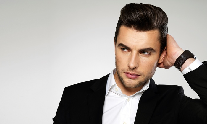 Men s haircuts 18 8 fine men 39 s salons groupon for 18 8 salon reviews