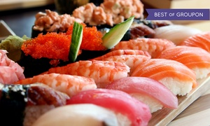 Yotsuba: $27 for $40 Worth of Sushi, Japanese Food, and Drinks for Dinner at Yotsuba, West Bloomfield