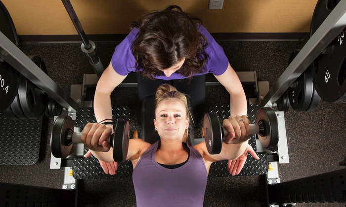 5 Dimension Fitness - Detroit: Two Personal Training Sessions with Diet and Weight-Loss Consultation from 5 Dimension Fitness (65% Off)
