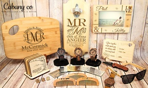 Cabany and Co: £20 or £40 to Spend on Personalised Gifts and Decor from Cabany Co (Up to 50% Off)