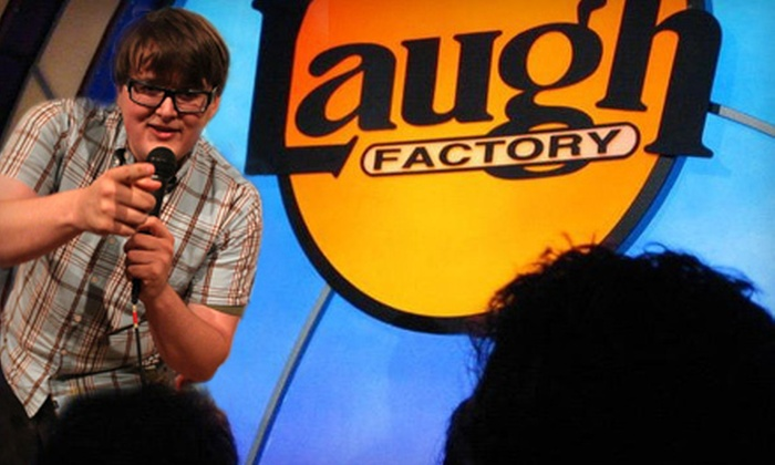 Laugh Factory - Laugh Factory: Comedy Show for Two at Laugh Factory at Tropicana Las Vegas (Up to 62% Off). Two Seating Options Available.
