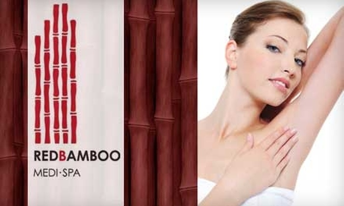 Red Bamboo Medi Spa - Clearwater: $99 for Six Laser Hair-Removal Treatments at Red Bamboo Medi Spa (Up to $900 Value)