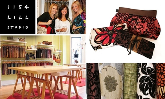 1154 Lill Studio - DePaul: $25 Toward $50 Worth of Custom Handbags and More at 1154 Lill Studio