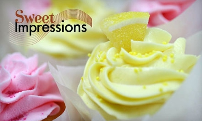 Sweet Impressions - State-Langdon: $5 for a Half-Dozen Cupcakes at Sweet Impressions ($11 Value)
