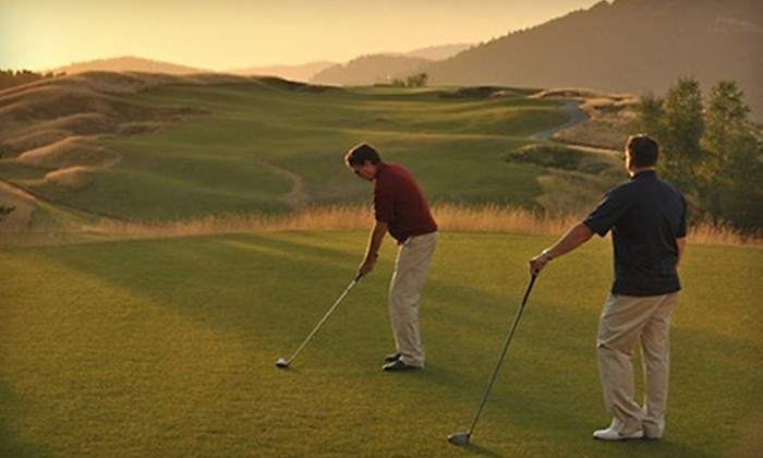 Galena Ridge Golf Course - Kellogg: $56 for 18 Holes of Golf for Two and Cart Rental at Galena Ridge Golf Course in Kellogg