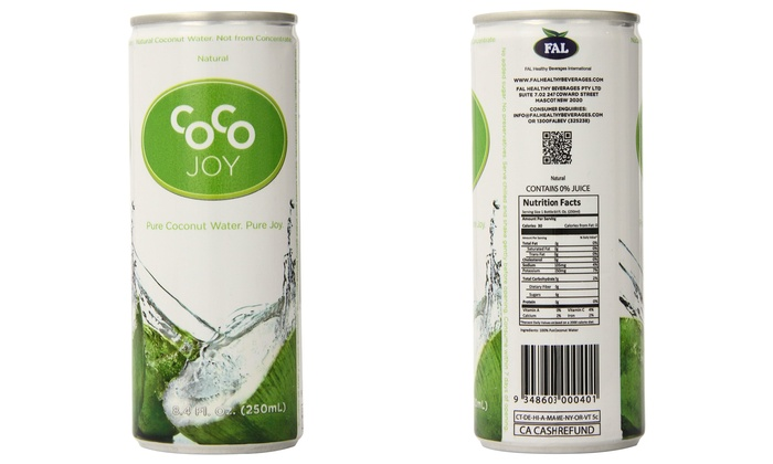 Coco Joy Pure Coconut Water 12 Pack