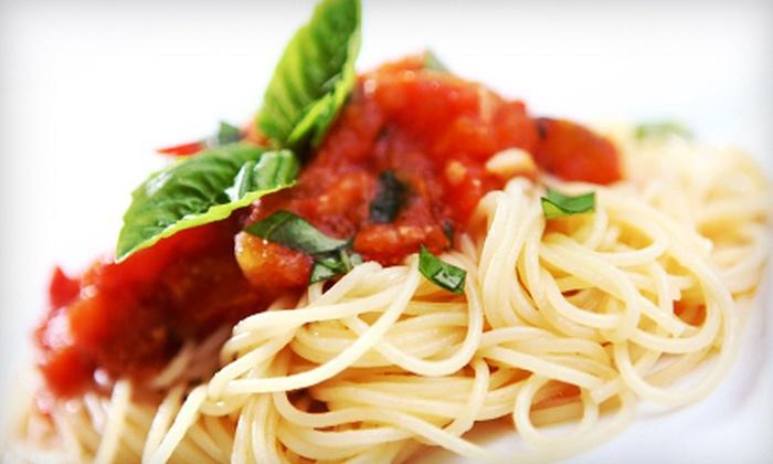 Mangia Italiano on Third - Central Chula Vista: $10 for $25 Worth of Italian Fare at Mangia Italiano on Third in Chula Vista