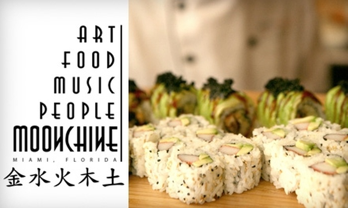 Moonchine Asian Bistro - Upper East Side: $10 for $20 of Asian Fare at Moonchine Asian Bistro