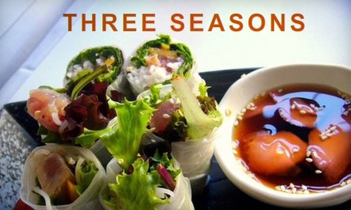 Three Seasons - University South: $20 for $40 Worth of Vietnamese Cuisine and Drink at Three Seasons in Palo Alto