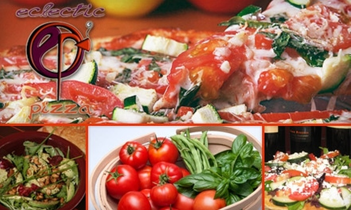 Eclectic Pizza - Ward 2: $7 for $15 Worth of Gourmet Pizza and More at Eclectic Pizza