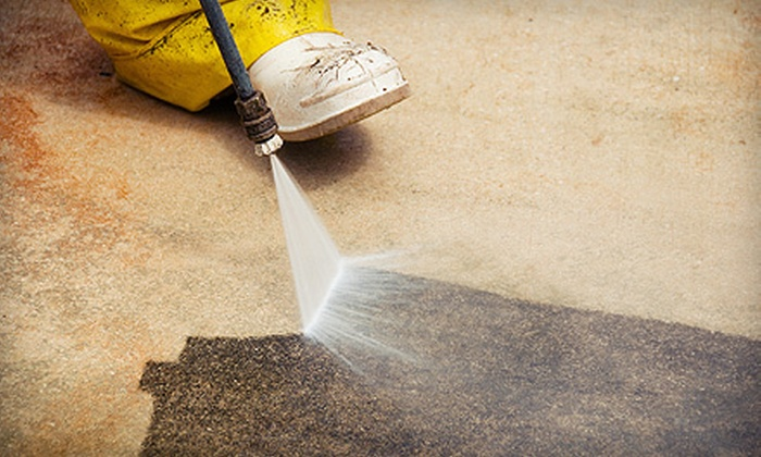 JS Cleaning - Nepean: $39 for One Hour of Home Pressure Washing from JS Cleaning ($79 Value)