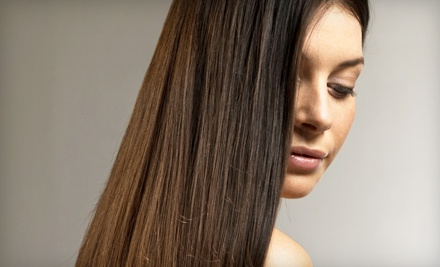 Haircut and a Keratin Express Blowout (up to a $235 value) - David Anthony Salon & Spa in Willowbrook