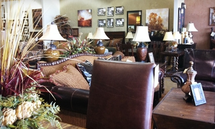 Mountain Timber Furnishings - Snyderville: $50 for $200 Worth of Furniture, Art, and Accessories at Mountain Timber Furnishings in Park City