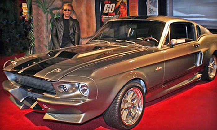 Hollywood Star Cars Museum - Gatlinburg: Admission for Two Adults or for Family of Four at Hollywood Star Cars Museum in Gatlinburg