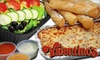 Valentinos - Sioux Falls: $10 for $20 Worth of Carryout Pizza, Pasta, and Drinks at Valentino's