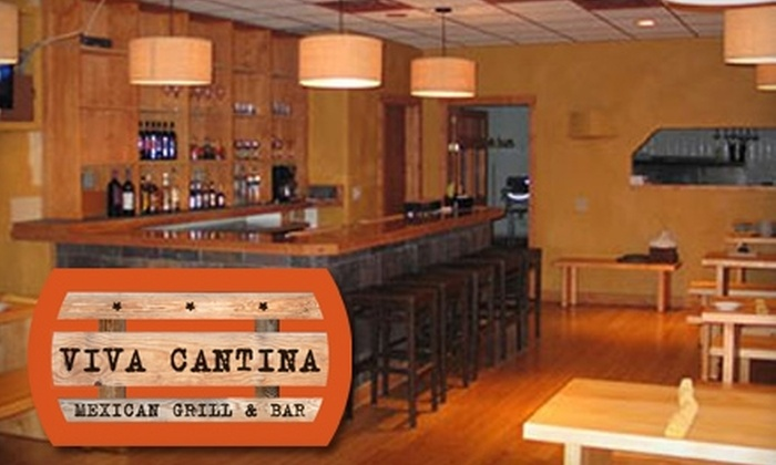 Viva Cantina - Downtown: $20 for $40 Worth of Mexican and Mexican-Italian Fusion Fare at Viva Cantina Mexican Grill & Bar