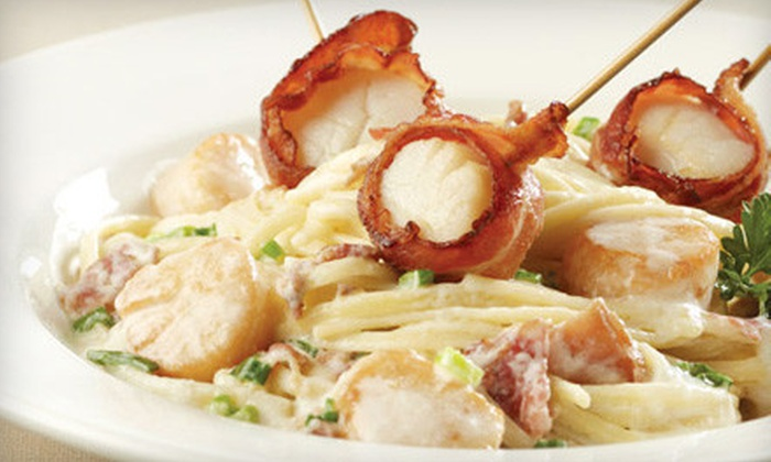 East Side Mario's - Multiple Locations: $12 for $25 Worth of Italian Fare at East Side Mario's. Three Locations Available.