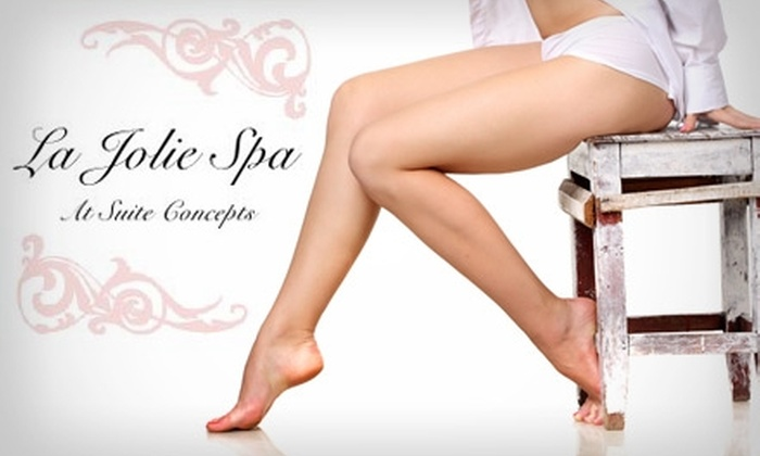 La Jolie Spa - Wichita: $20 for $50 Worth of Waxing Services at La Jolie Spa
