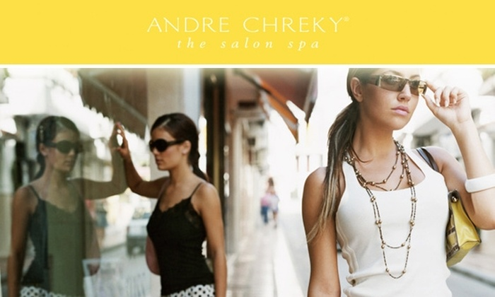 Andre Chreky, the salon spa - Dupont Circle: $50 for $100 at Andre Chreky, the salon spa