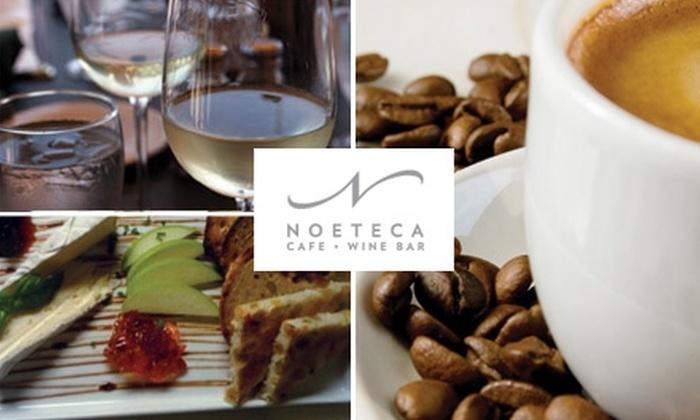 Noeteca Café & Wine Bar - Noe Valley: $10 for $20 Worth of Cuisine and Drinks at Noeteca Café & Wine Bar