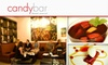 Candybar - NoPa: $15 for $35 Worth of Desserts and Wine at Candybar