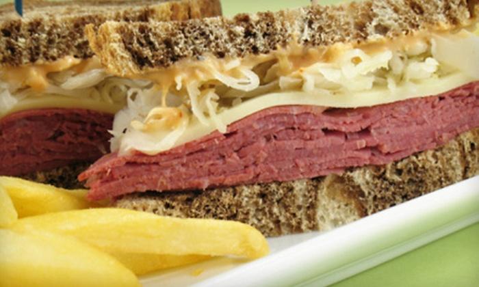 Mr. Pickle's Sandwich & Burger Shop - Carmichael: $11 for Three Sandwiches or Salads at Mr. Pickle's Sandwich & Burger Shop in Carmichael