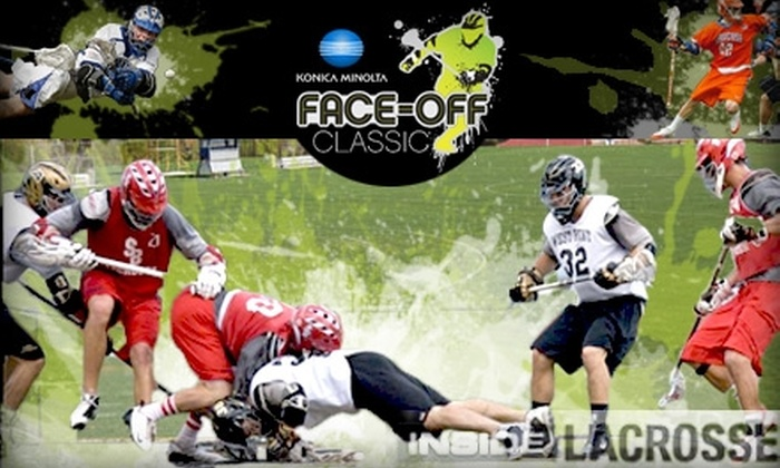 Inside Lacrosse - Baltimore: $15 for One Club-Level Ticket to the Konica Minolta Face-Off Classic on Saturday, March 6, at M&T Bank Stadium ($30 Value)