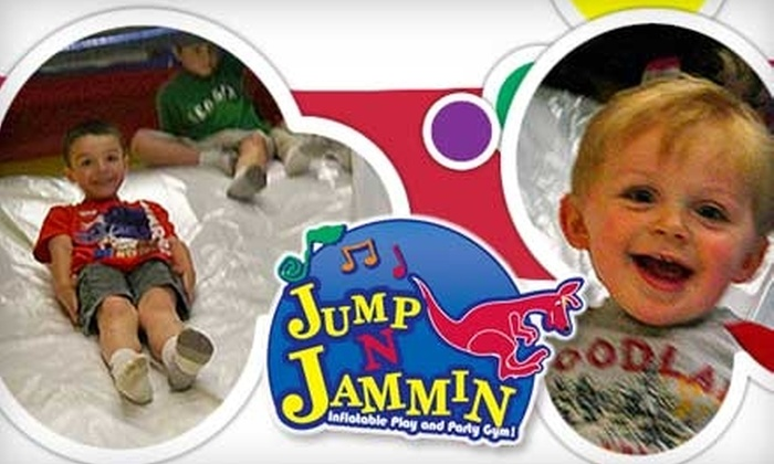 Jump n Jammin Play Gym - Bristol: $12 for Three Passes to Jump-n-Jammin Inflatable Play and Party Gym