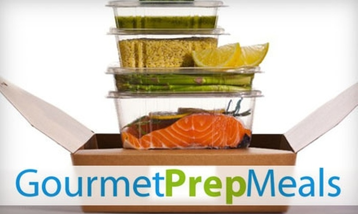 Gourmet Prep Meals: $12 for $25 Worth of Ready-to-Cook Meals from Gourmet Prep Meals