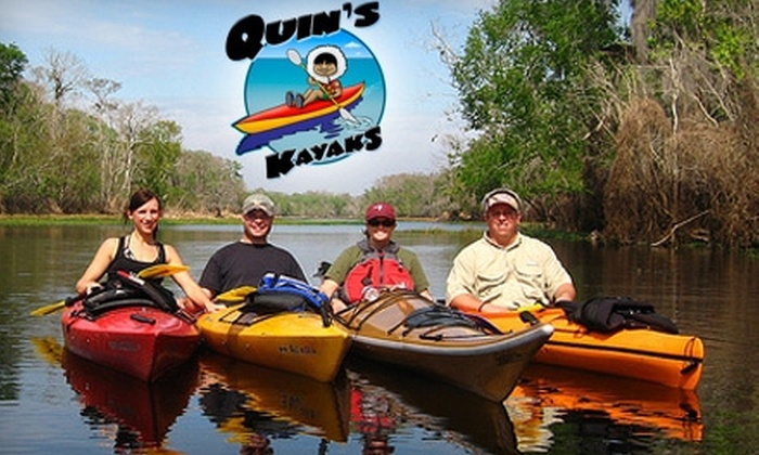 Quins Kayaks - Ponce Inlet: $20 for 3.5-Hour Kayak Tour from Quin's Kayaks ($40 Value)