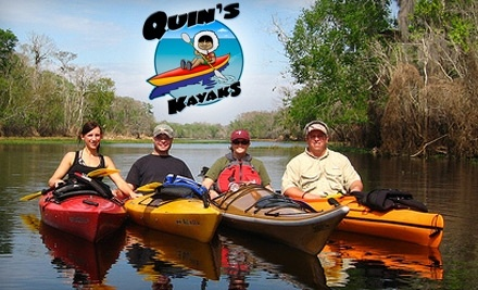 Quins Kayaks - Quins Kayaks in Ponce Inlet