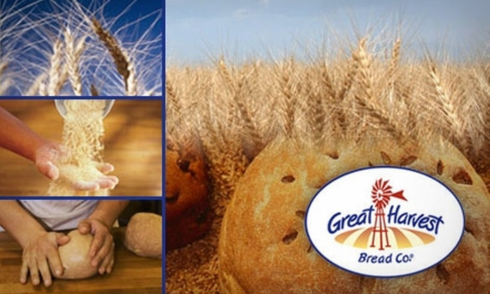 Great Harvest Bread Company - Greensboro: $5 for $10 Worth of Freshly Baked Bread and Baked Goods at Great Harvest Bread Co.