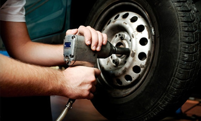 Hornsby Tire & Service Center - Marshall: $21 for Oil Change, Tire Rotation, and 24-Point Inspection at Hornsby Tire & Service Center in Newport News ($69.95 Value)