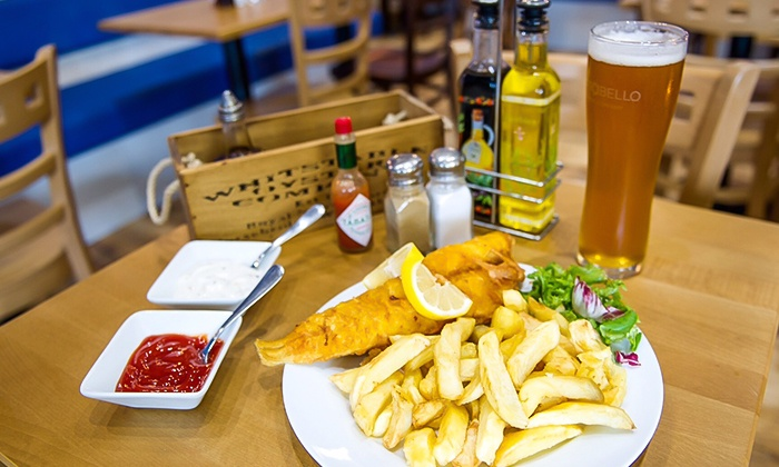 Seawise Camden - Seawise Camden: Fish and Chips with Beer or Prosecco for One, Two or Four at Seawise Camden (52% Off)