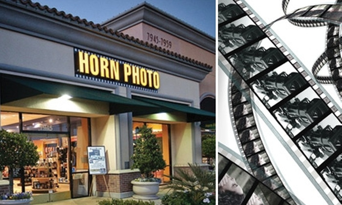 Horn Photo - Bullard: $20 for $50 Worth of Photo-Finishing Services at Horn Photo