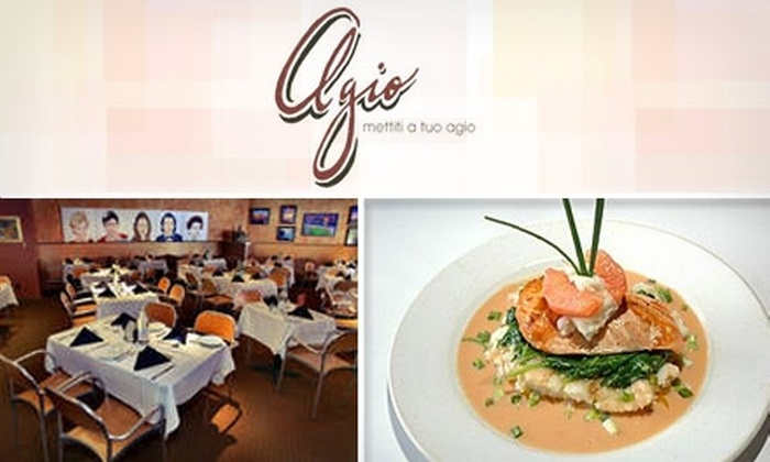 Agio - Chatham-arch: $20 for $40 Worth of Creative Italian Cuisine at Agio