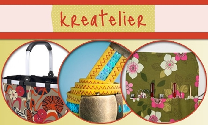 Kreatelier - Hope: $10 for $20 Toward Creative Textile Products or Workshops at Kreatelier